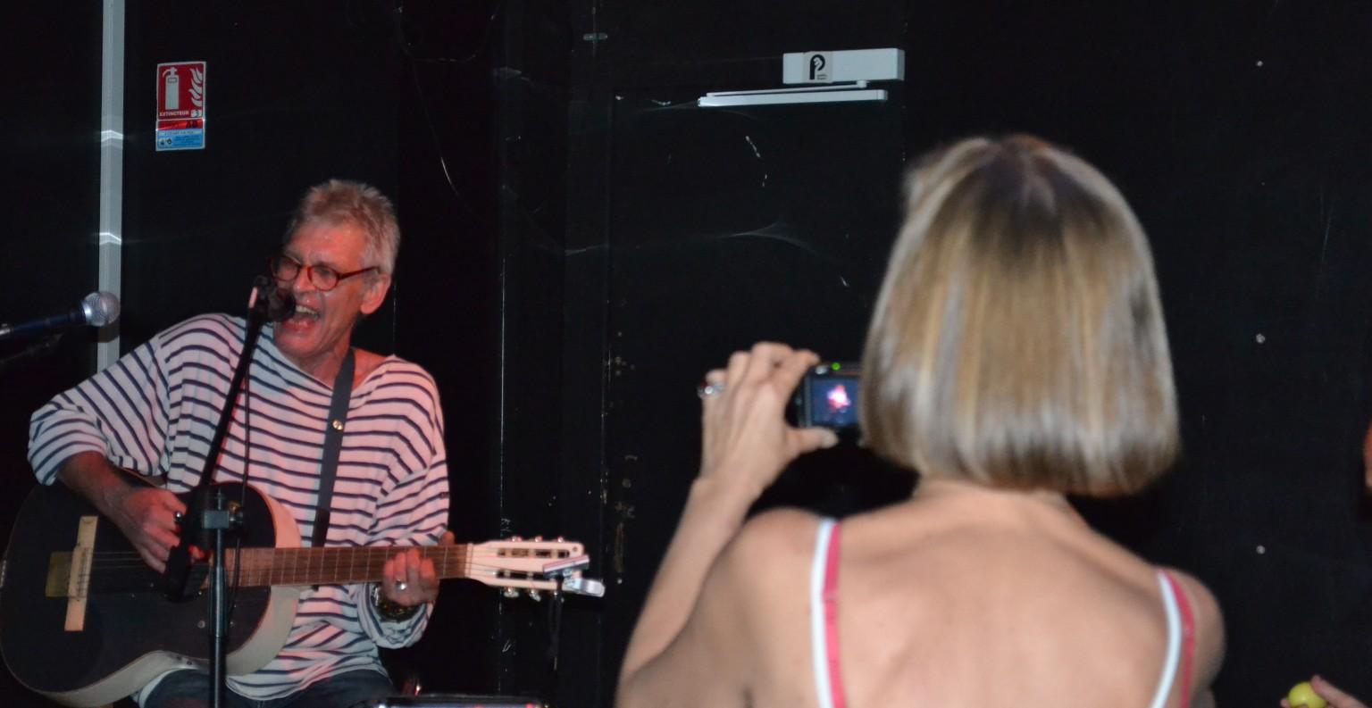 Monika et Alain lors d'une scène ouverte ©MD