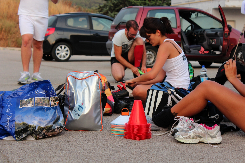 Début d'un entraînement à Aix-en-Provence. ©AL