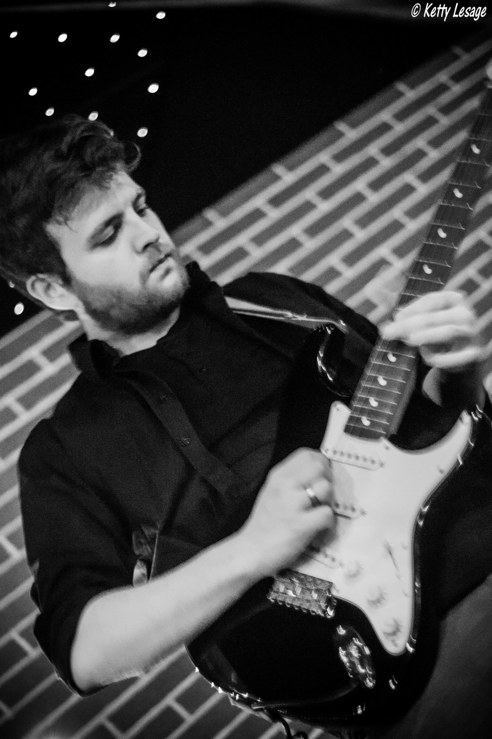 Arthur, guitariste  ©Ketty Lesage