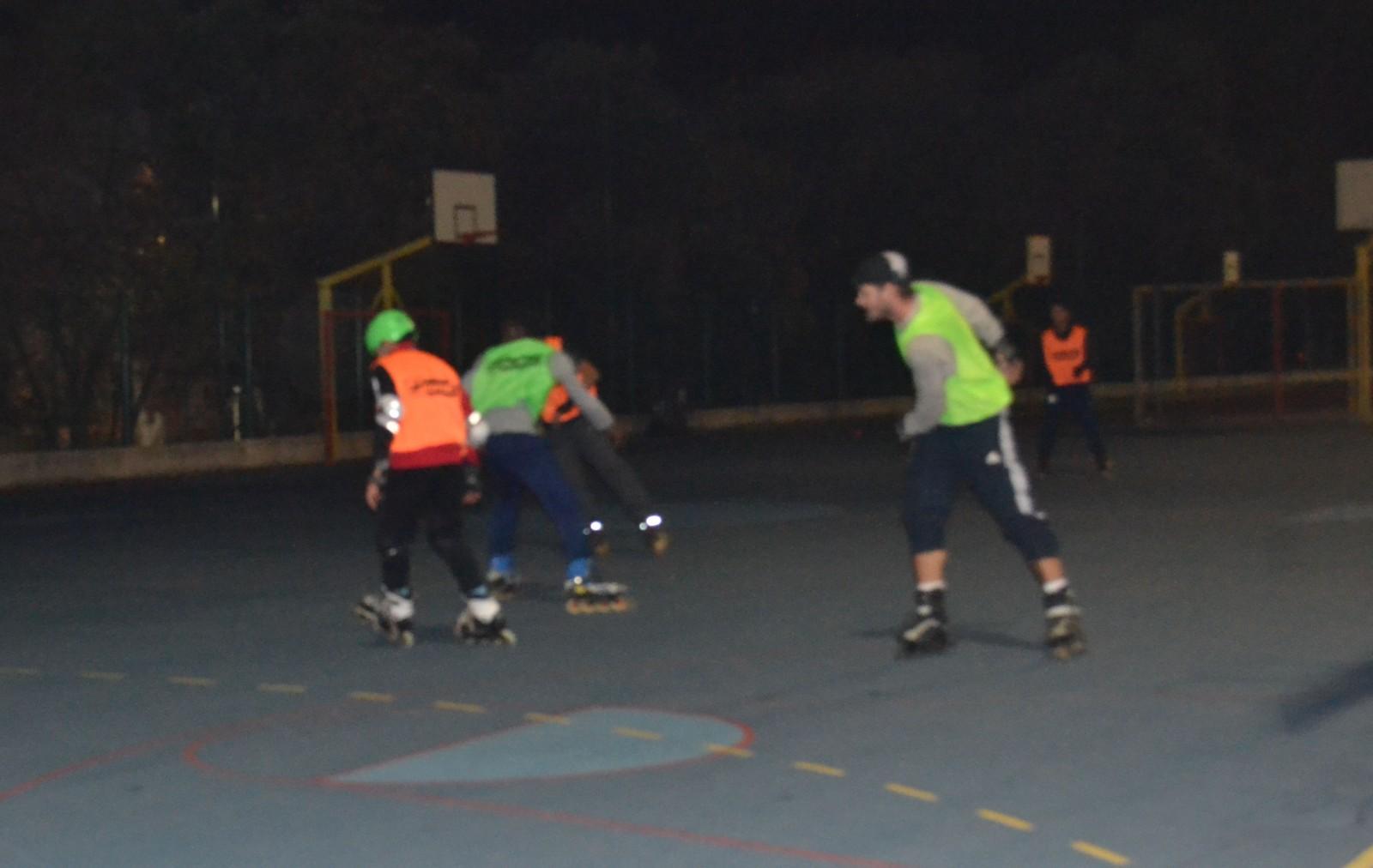 L'équipe de l'AMSCAS joue un match d'entrainement ©MD