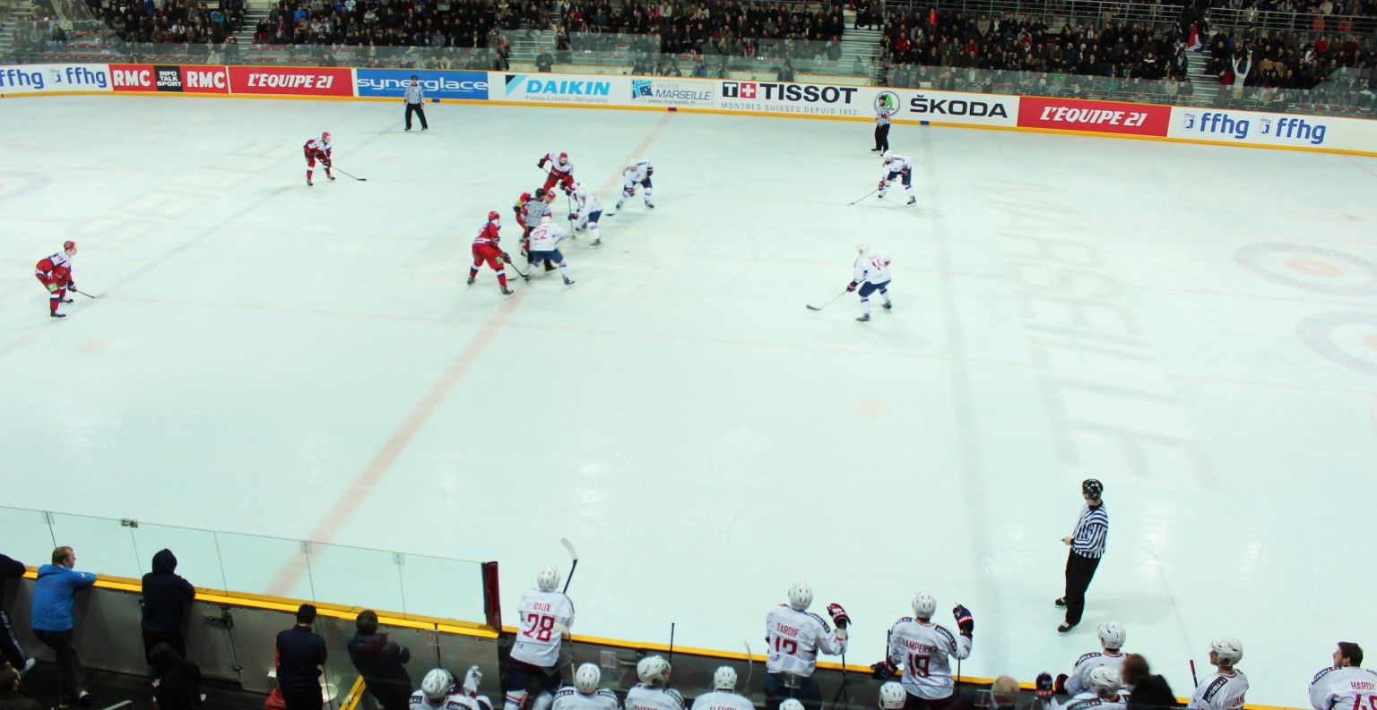 Match amical France-Russie, POMGE Marseille.