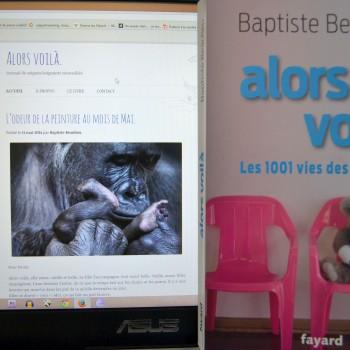 Le blog et le livre Alors Voilà