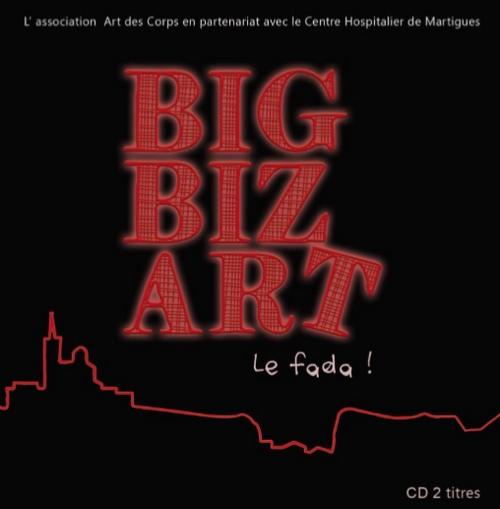 Pochette du CD du groupe les Big Biz'art !