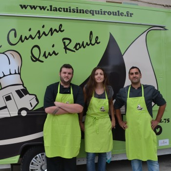 L'équipe de la Cuisine qui roule. ©MD