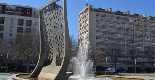 L'Arbre de l'Espérance a été inauguré le 14 décembre 2000 à Marseille. Il symbolise la tolérance et la fraternité. ©MD