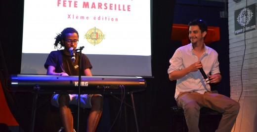 The Mymetist sur la scène du Café Julien le 3 juin ©MD