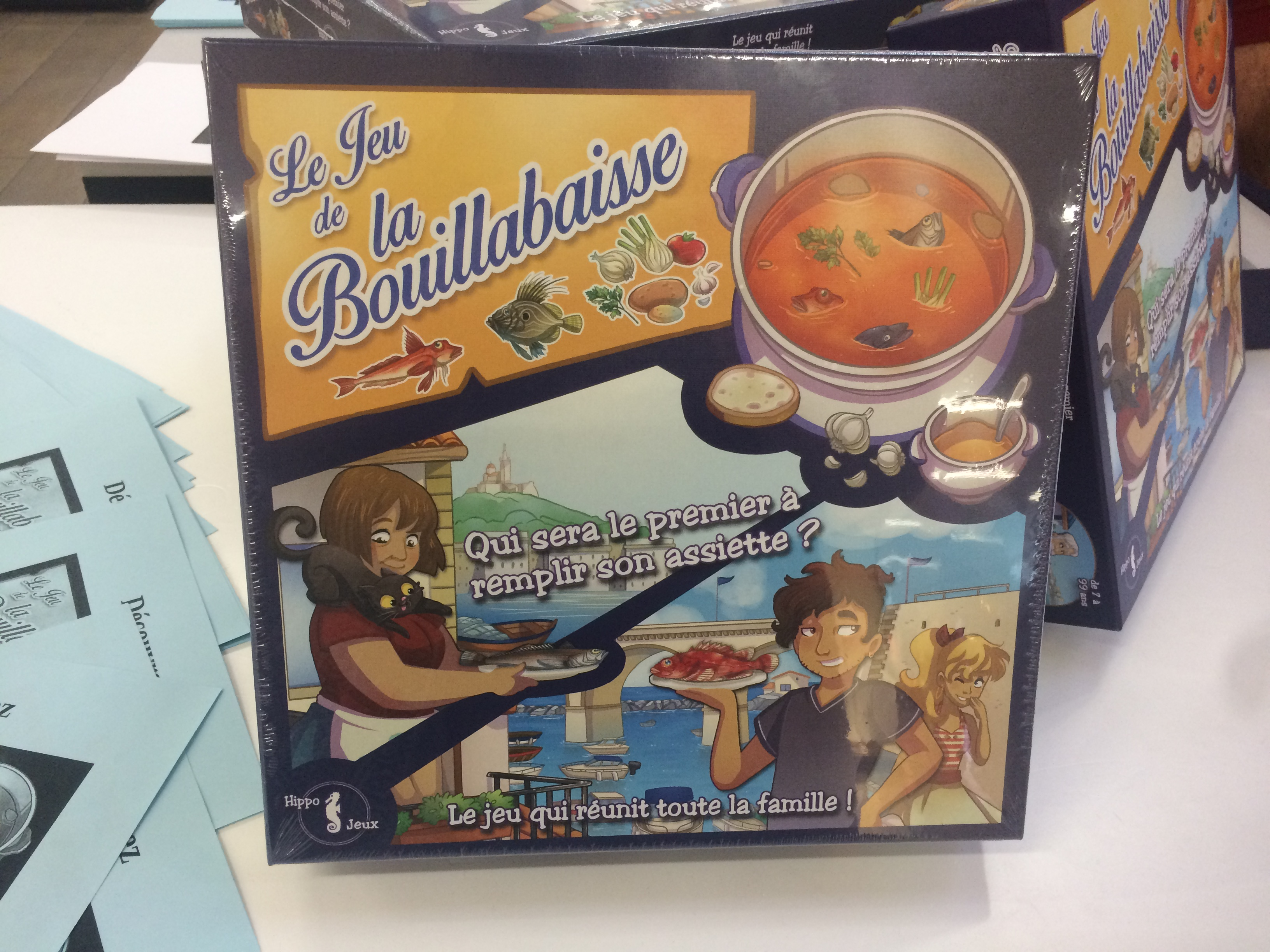 La Bouillabaisse un jeu made in Marseille. ©MD