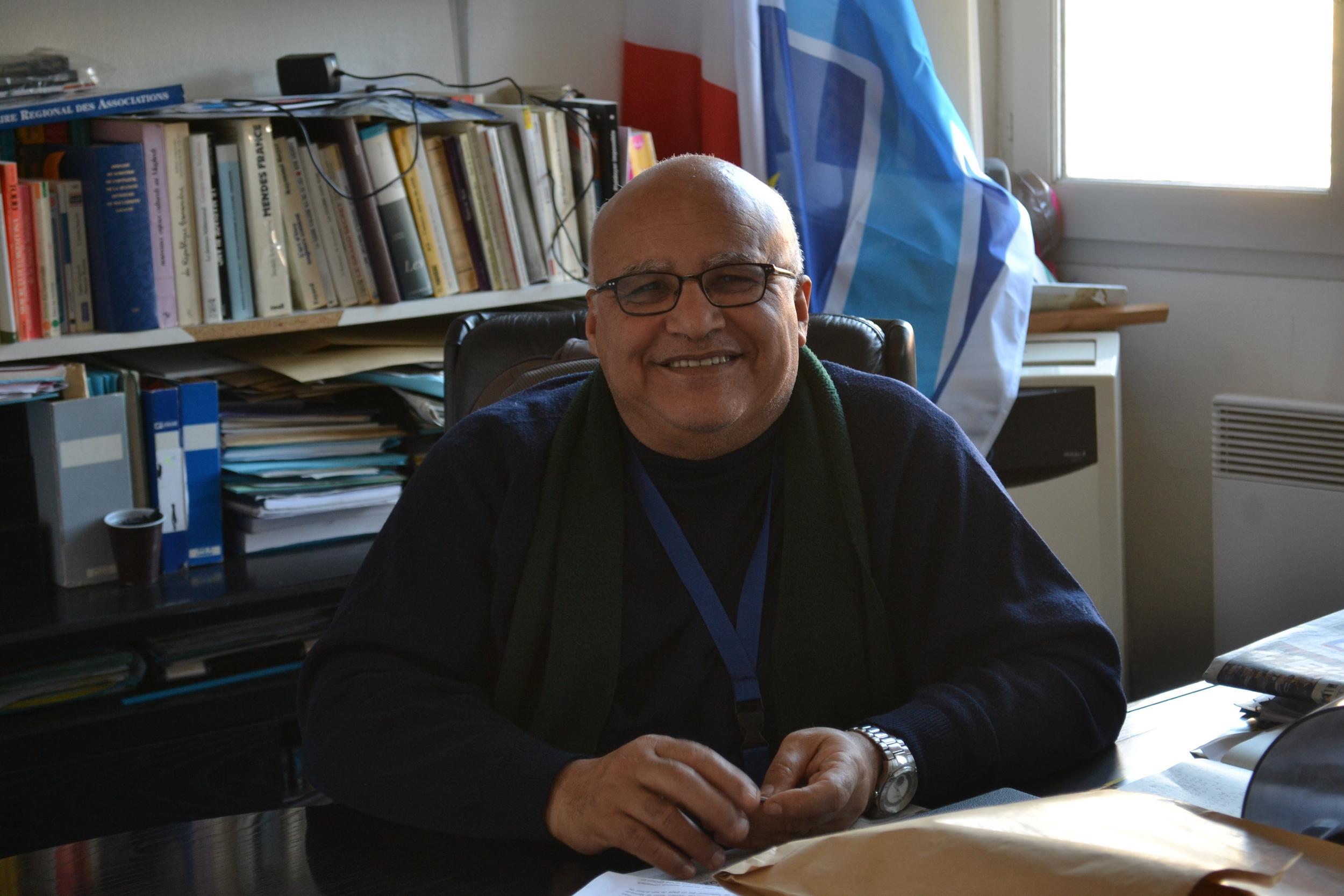 Salah Bariki, membre fondateur de Marseille Espérance et chargé des affaires Musulmanes à la Ville de Marseille. ©MD