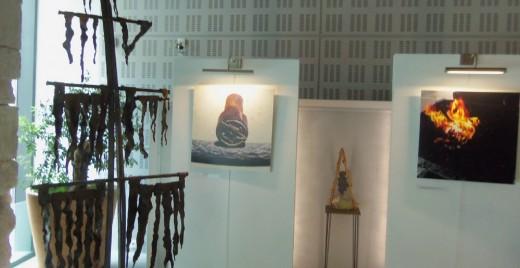 """L'exposition """"Le Feu, le fer, les hommes"""" de la Maison de la Région à Marseille jusqu'au 30 octobre. ©DF"""