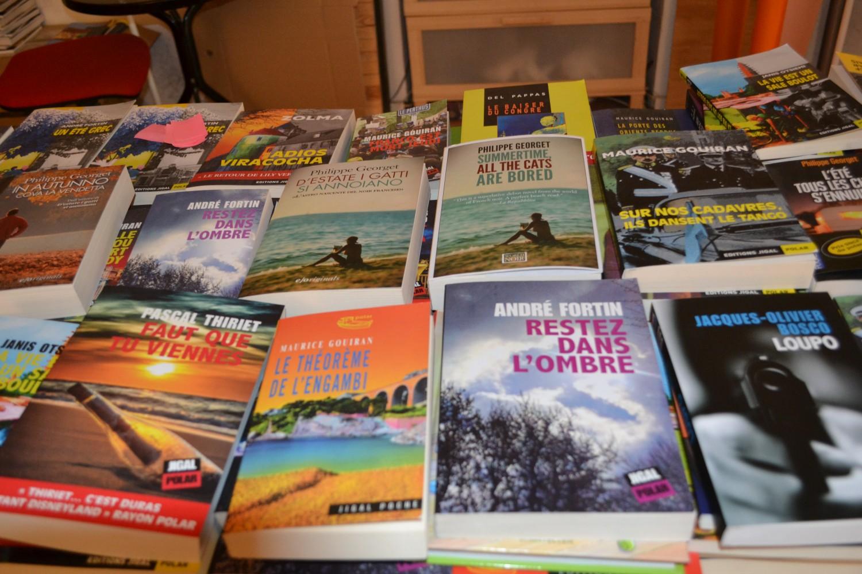 Chaque année Jigal édite entre 15 et 20 livres ©MD