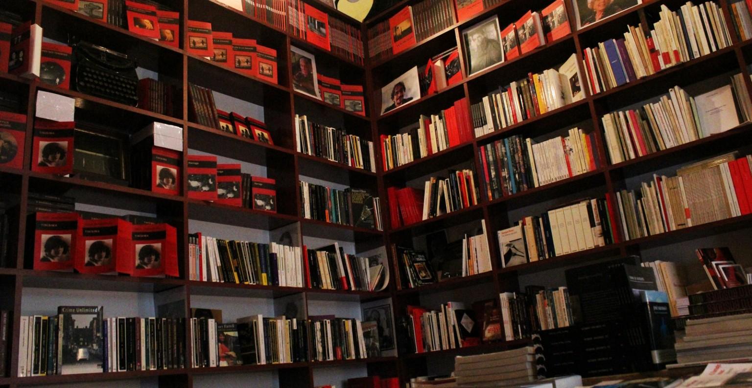 La librairie L'atinoir, située au 4 rue Barbaroux à Marseille. ©DF