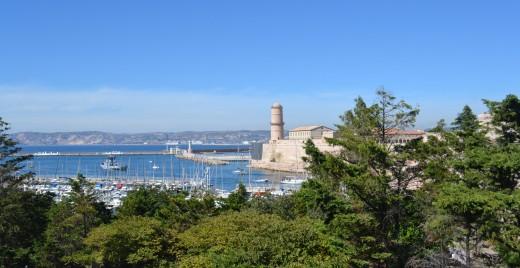 Vue de Marseille depuis le Fort d'Entrecasteaux. ©MD