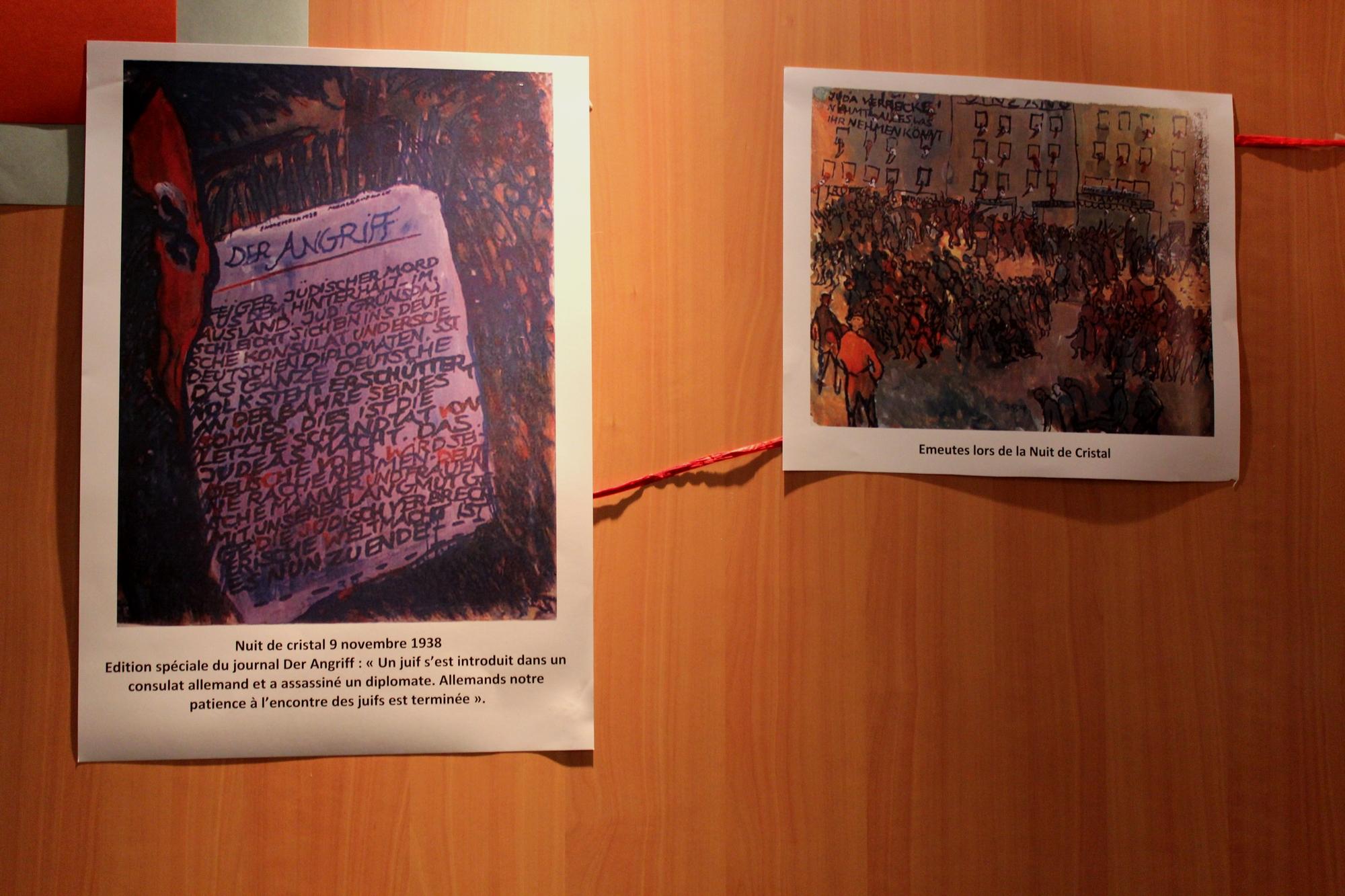 Une exposition sur Charlotte Salomon, au Centre Edmond Fleg au mois de février. ©AL