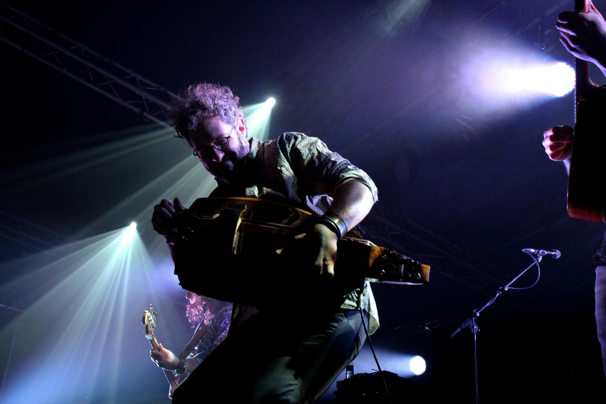 Concert à Marseille dans le cadre de Babel Med Music, le 27 mars 2015. ©AL
