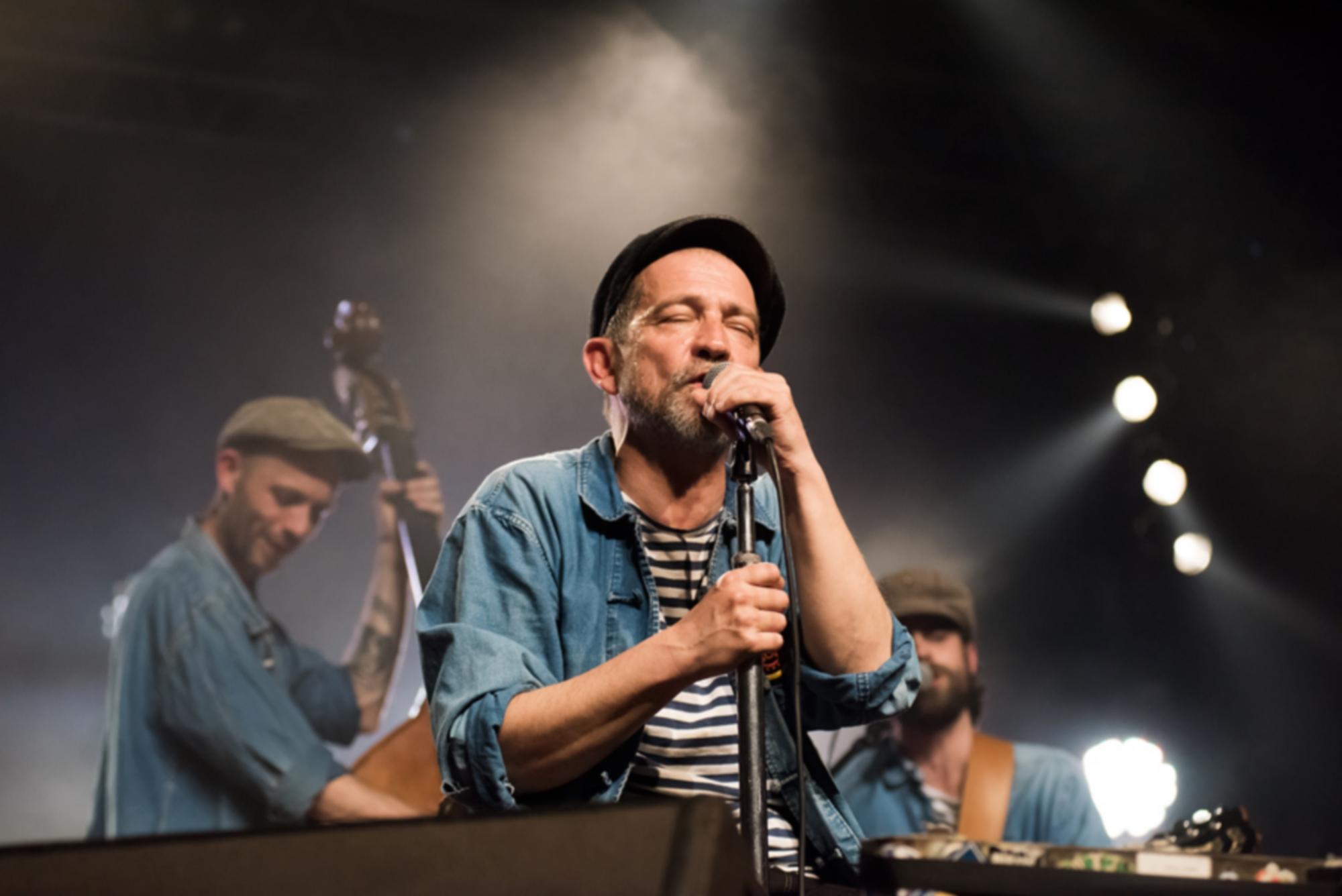Tatou lors de Babel Med Music 2015 à Marseille. ©Jean de Pena