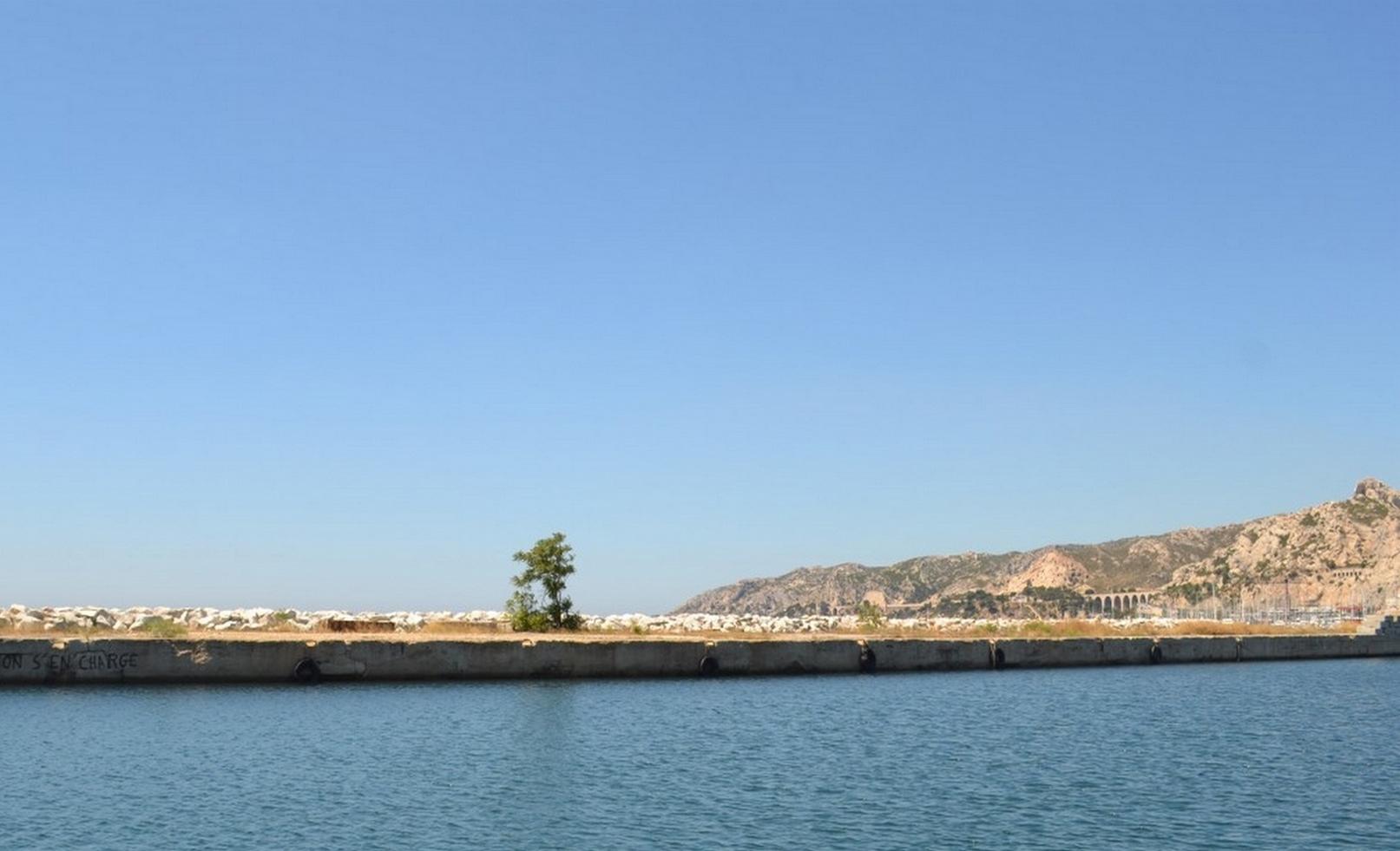 L'Estaque vue de la mer. ©MD