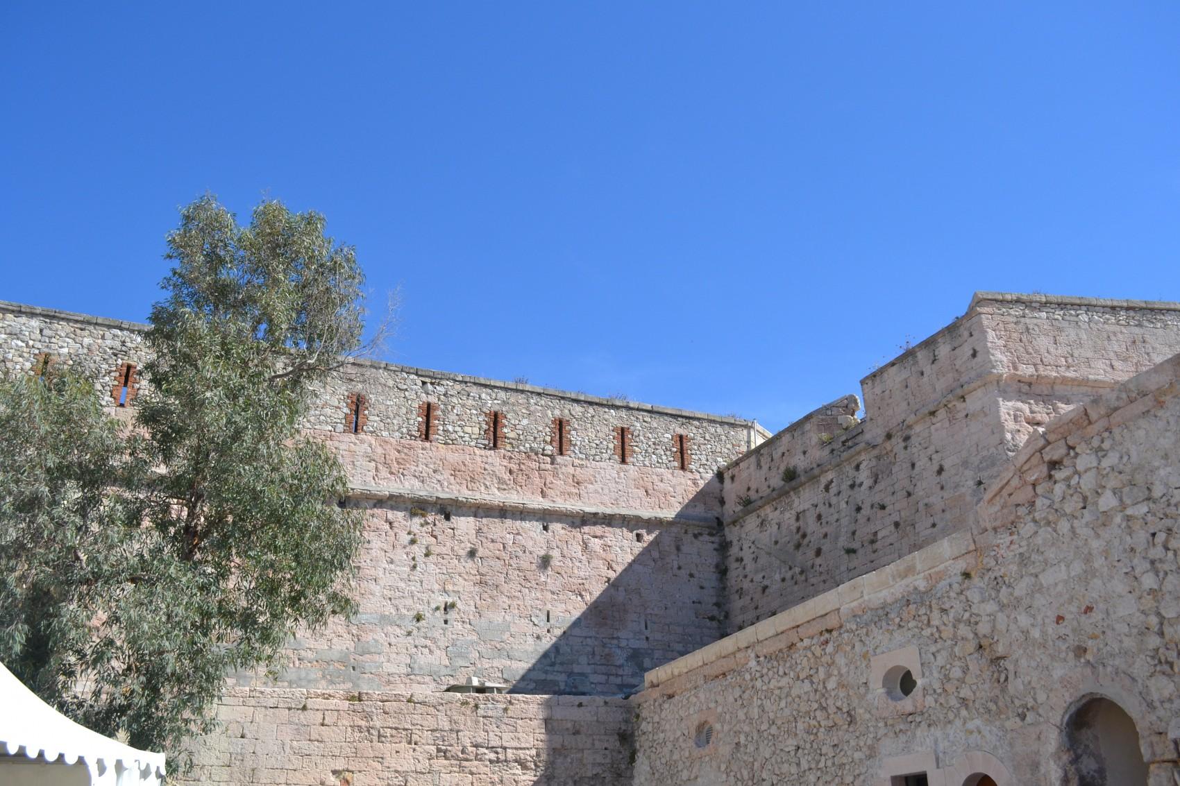 Le fort d'Entrecasteaux sera ouvert au public à l'occasion des journées du patrimoine. ©MD