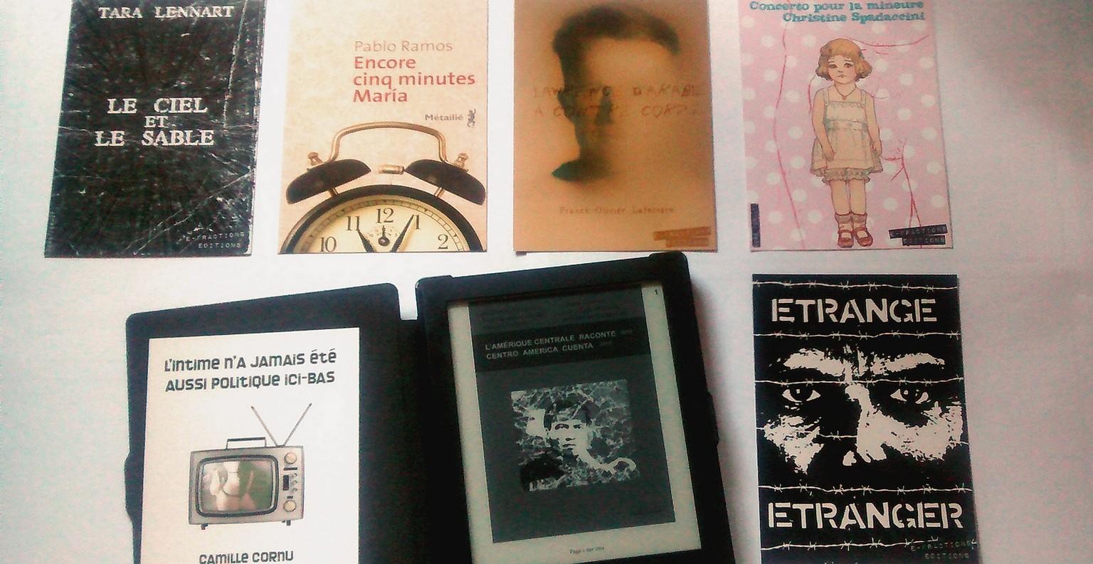 E-Fractions travaille à la mise en valeur de la littérature et à sa démocratisation. ©AL