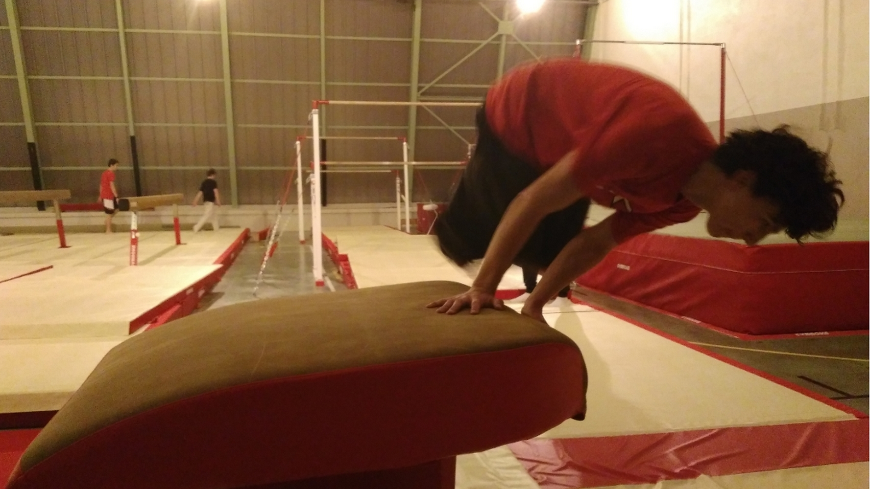 La gymnastique, indispensable au Parkour. ©CN