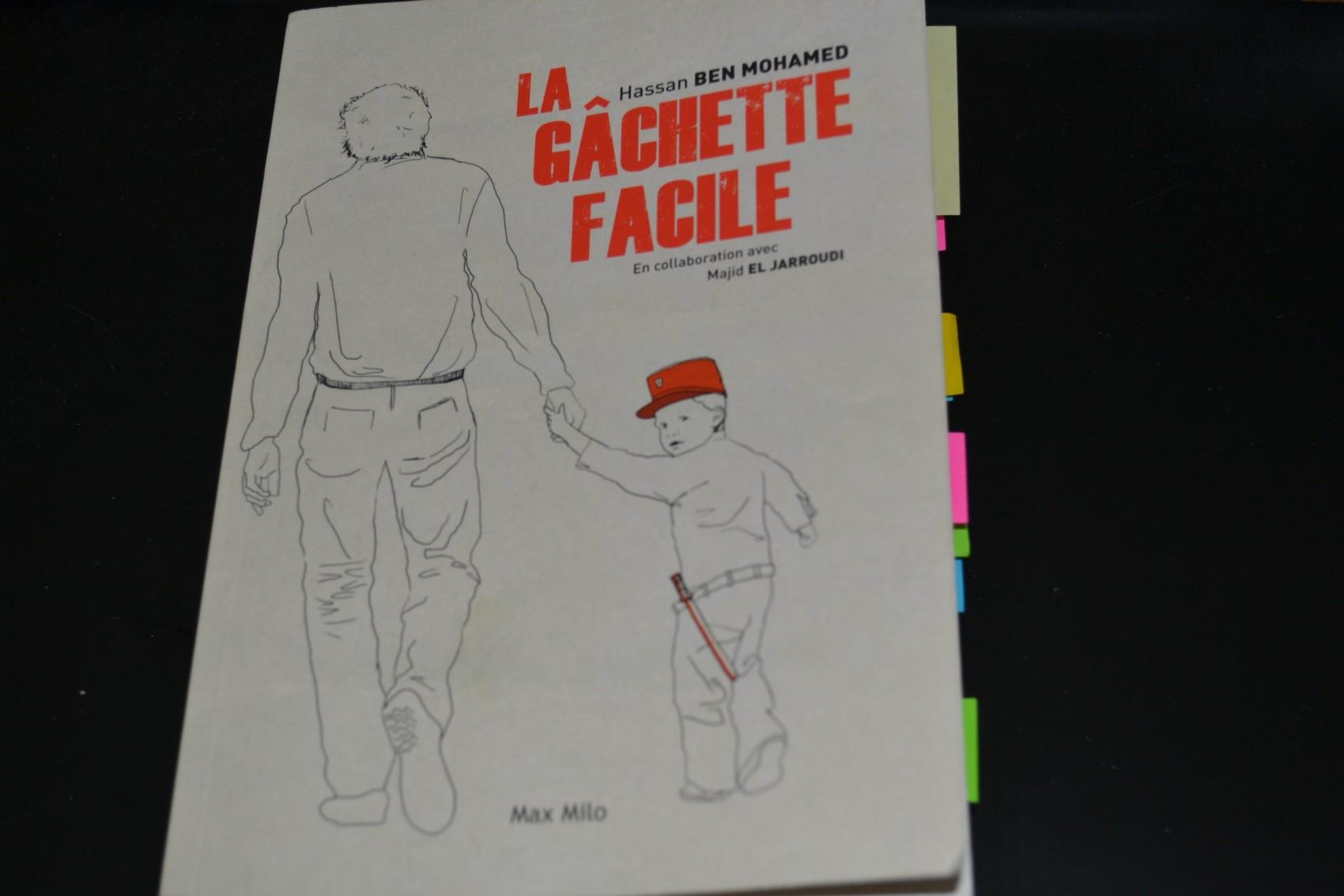La couverture de La Gâchette facile est illustré par Laura Acquaviva. ©MD