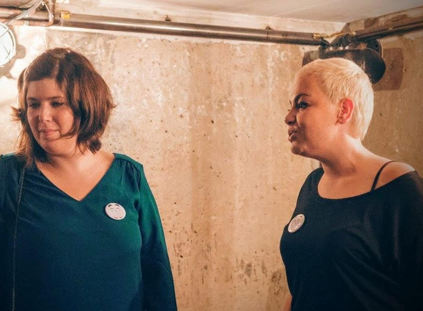 Dorothy Aubert et Marie Trebaol, éditrices de Belleville. ©DR