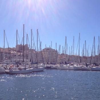 Le Vieux Port de Marseille. ©MD