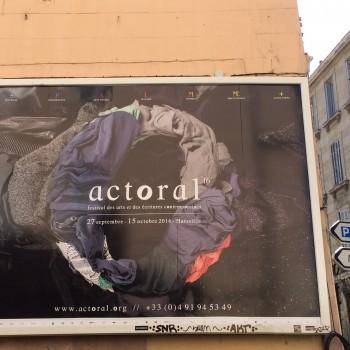 Le festival Actoral se déroule du 27 septembre au 15 octobre à Marseille. MD