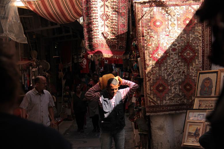 Pouvoir à la Médina de Tunis. ©Younes Ben Slimane