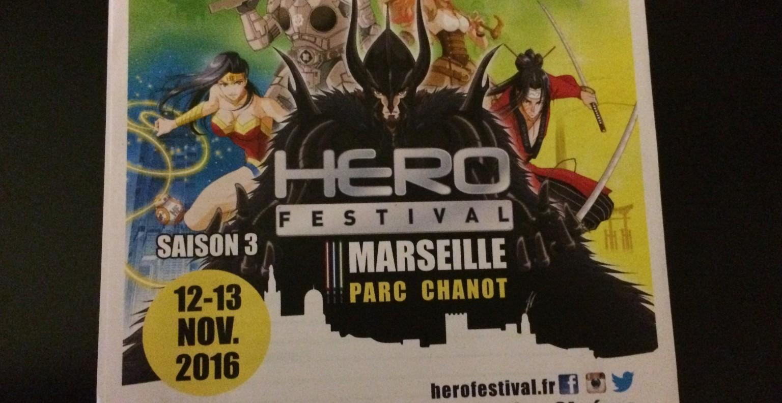 Le Hero Fesival se tiendra les 12 et 13 novembre à Marseille ©MD