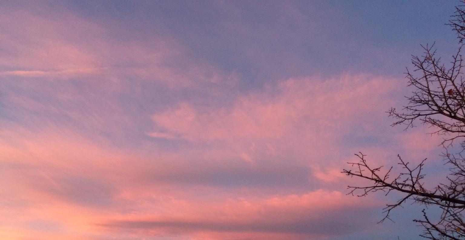 Le ciel d'Allauch. ©MD