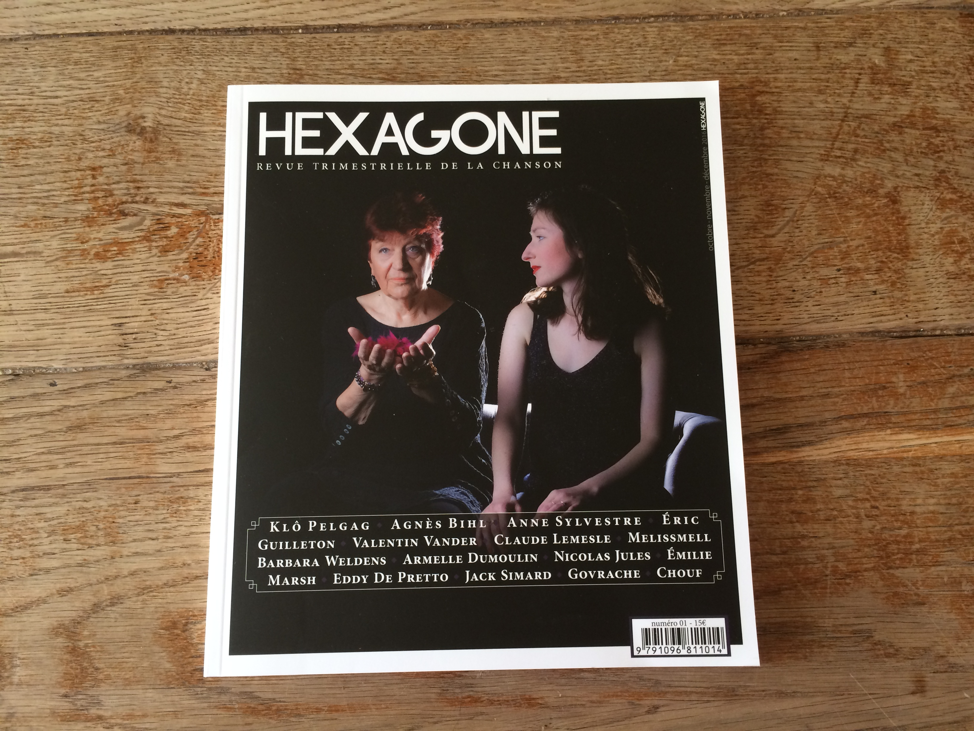 La revue trimestrielle Hexagone. @MD