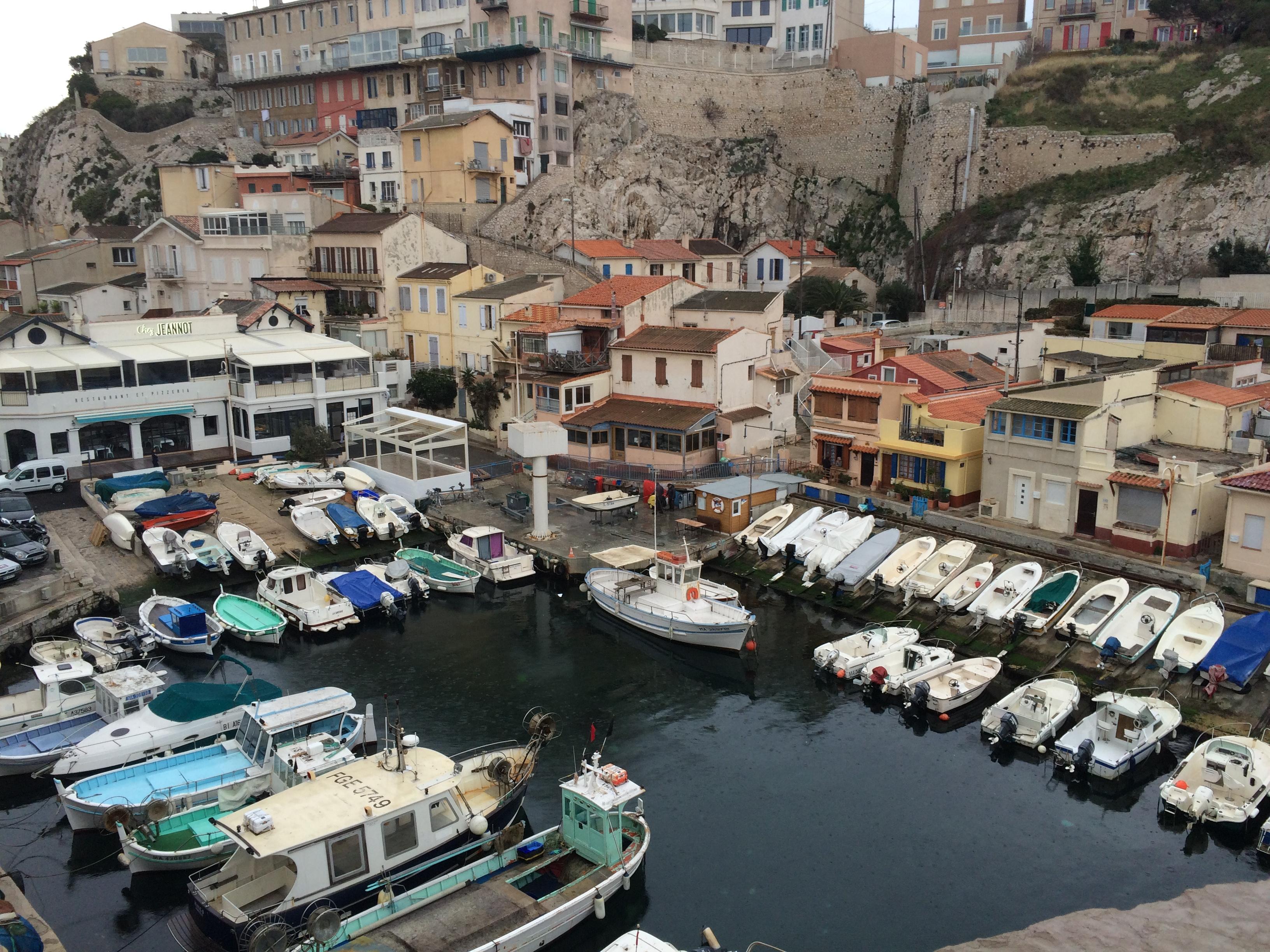 Le Vallon des Auffes à Marseille. ©MD