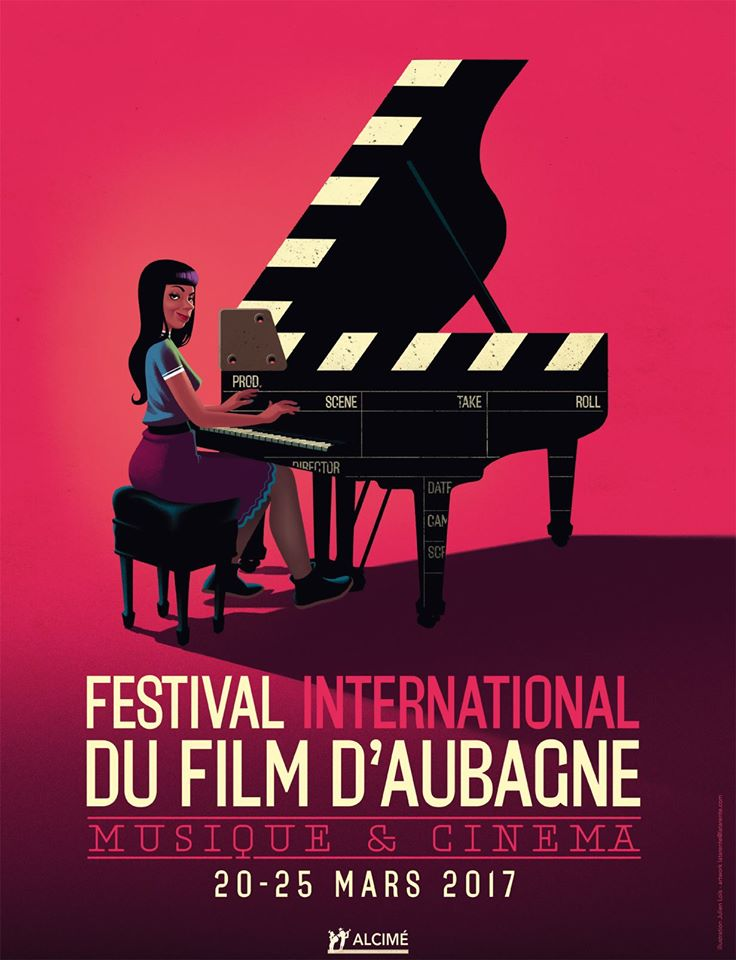 Affiche du Festival International du Film d'Aubagne. ©DR