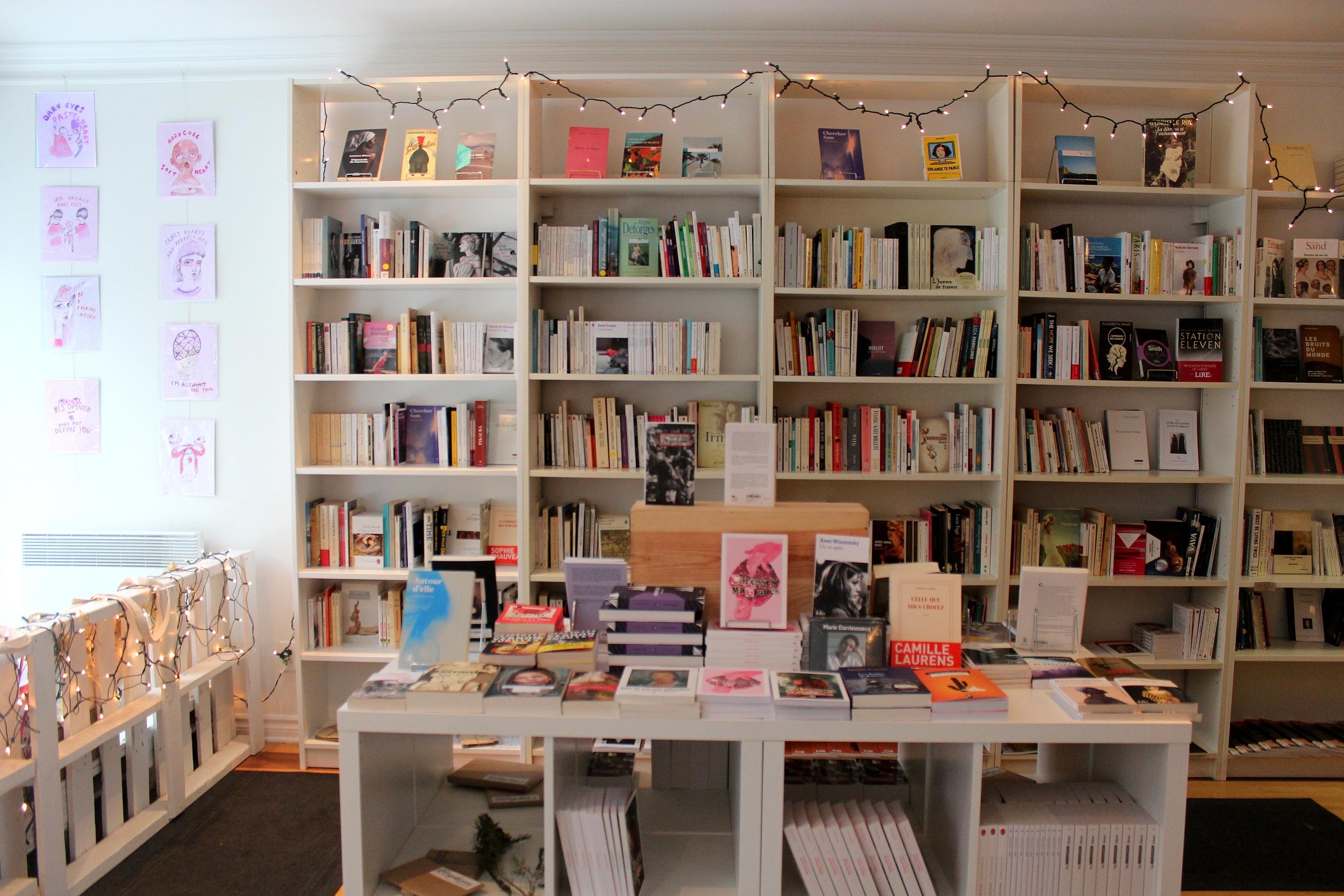 L'équipe aimerait ouvrir un coin café pour que les clients puissent s'asseoir, lire et flâner. ©AL