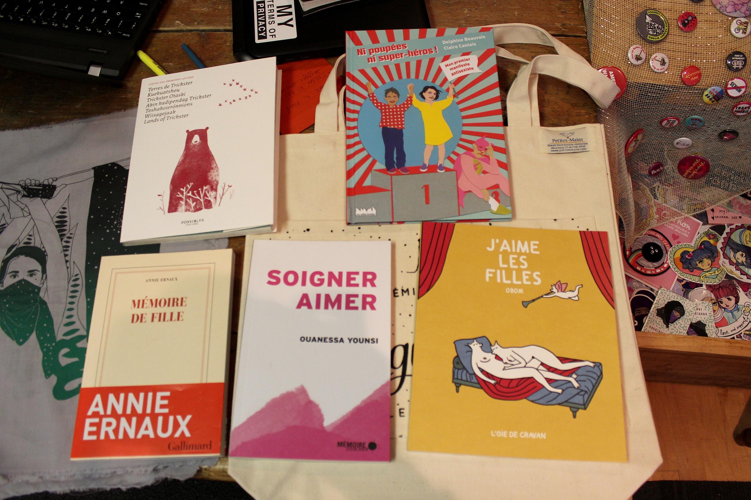 Des livres qui sortent des stéréotypes. ©AL