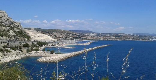 Face à la mer Méditerranée. ©AL
