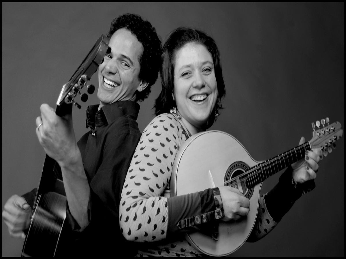 Le duo Luzi- Nascimento est à la base de l'association La Roda. ©La Roda