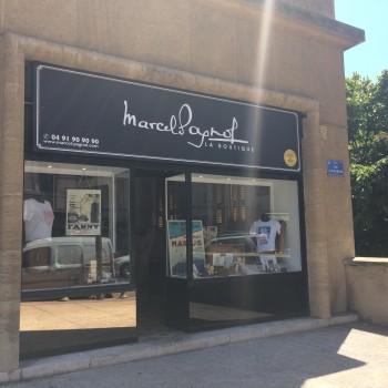 La boutique a ouvert ses portes au Panier où Marcel Pagnol a vécu de 15 à 22 ans. ©MD