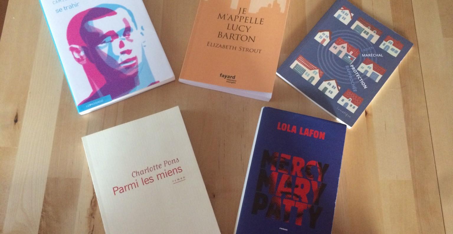 Cinq ouvrages à découvrir pour cette rentrée littéraire. ©MD