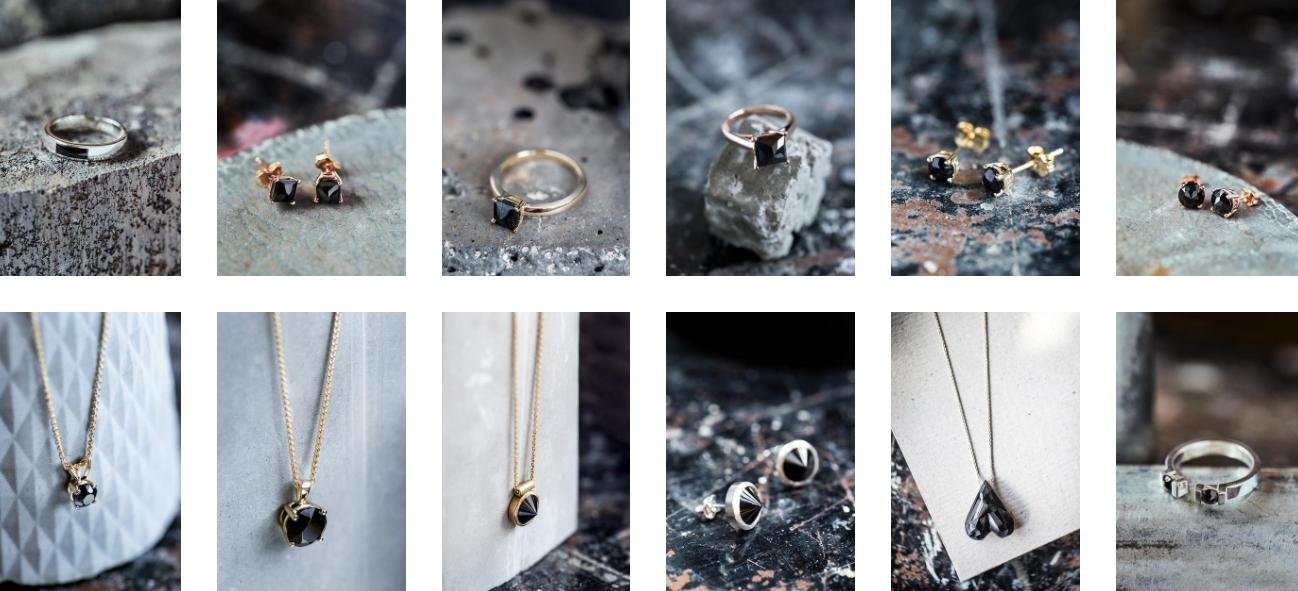 Les bijoux peuvent s'acheter en ligne et dans l'atelier. ©CinderellaGarbage