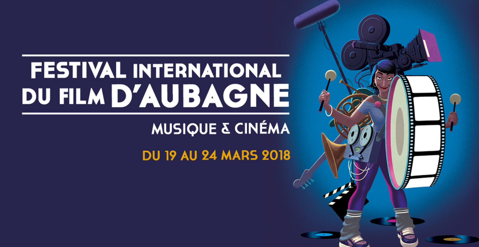 Affiche de l'édition 2018 du Festival International du Film d'Aubagne. ©DR