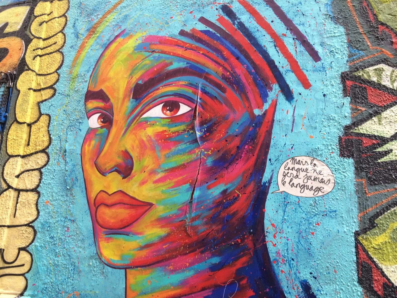 Tag de Manyoly à la Rue Pastoret à Marseille. ©MD