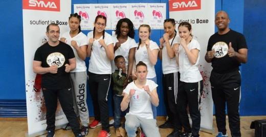 Les femmes représentent environ la moitié des effectifs. ©B'O Boxing