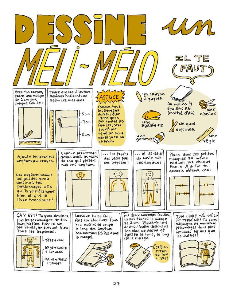 Bricolage de Catherine Staebler pour fabriquer un Méli-Mélo publié par Biscoto éditions.
