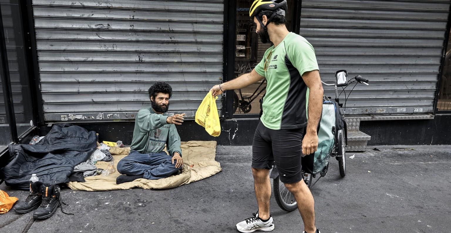 Le mouvement lancé au mois de mars 2020 est entièrement bénévole. ©#PourEux/ Bruno Levy Divergence-images.