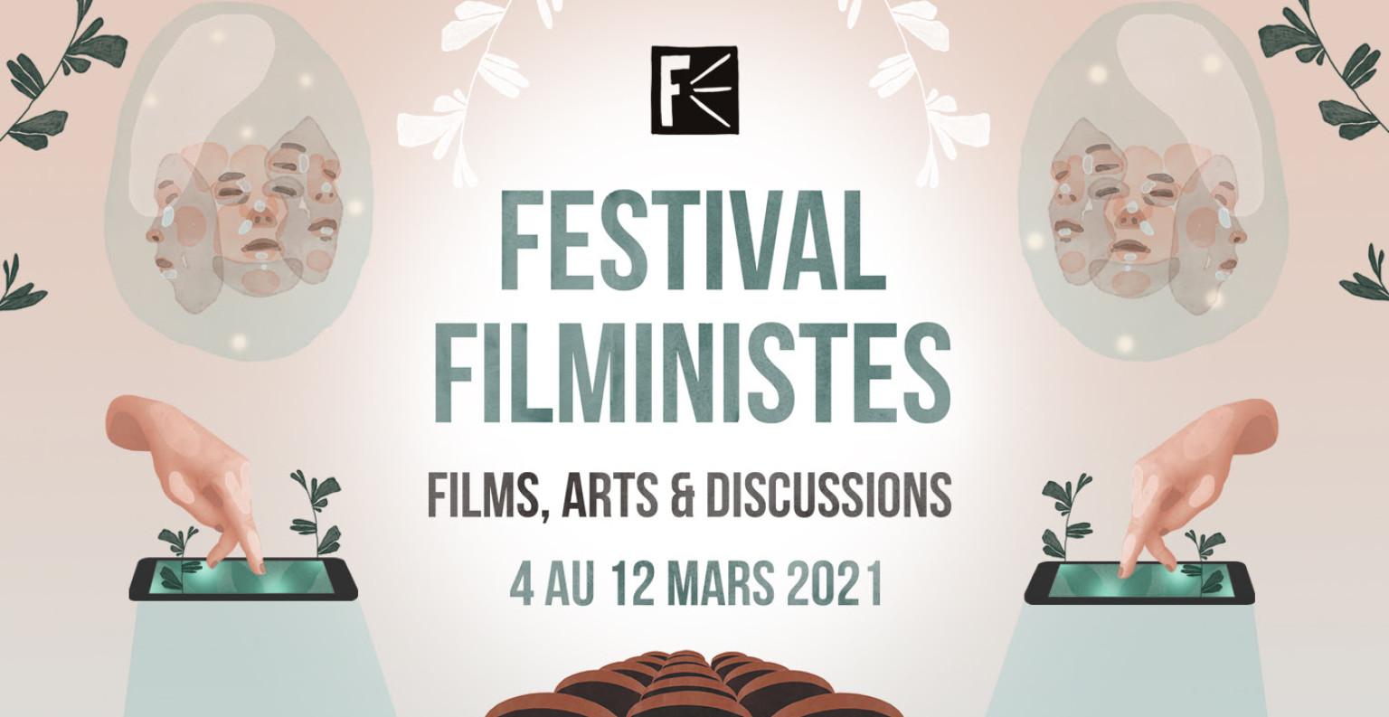 Affiche du festival Filministes. ©DR