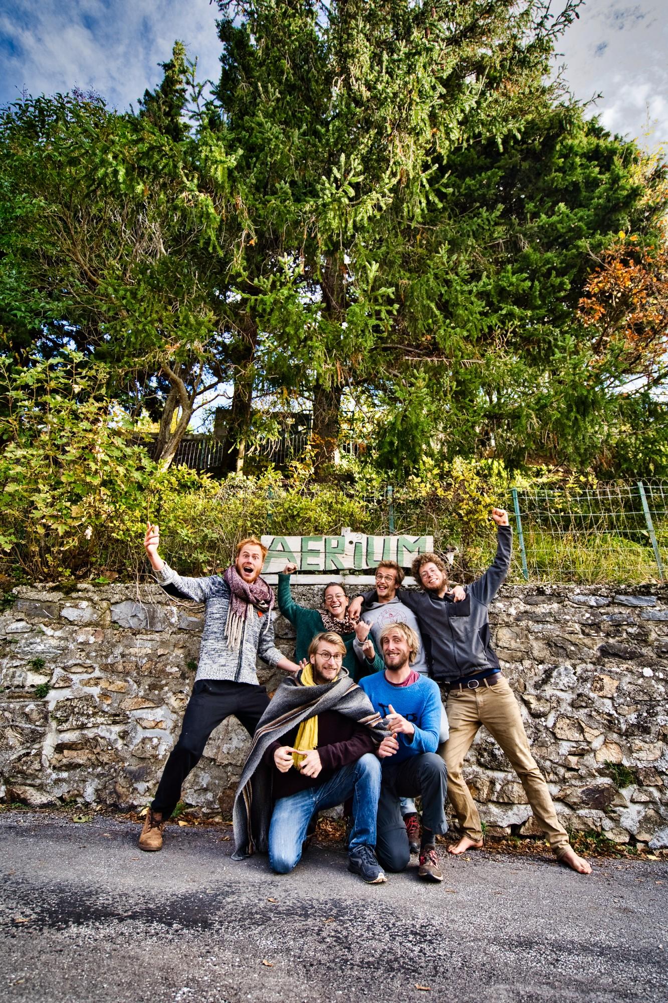 L'Aerium dans les Cévennes est le lieu où le collectif est resté le plus longtemps, trois mois. ©KevinSimon