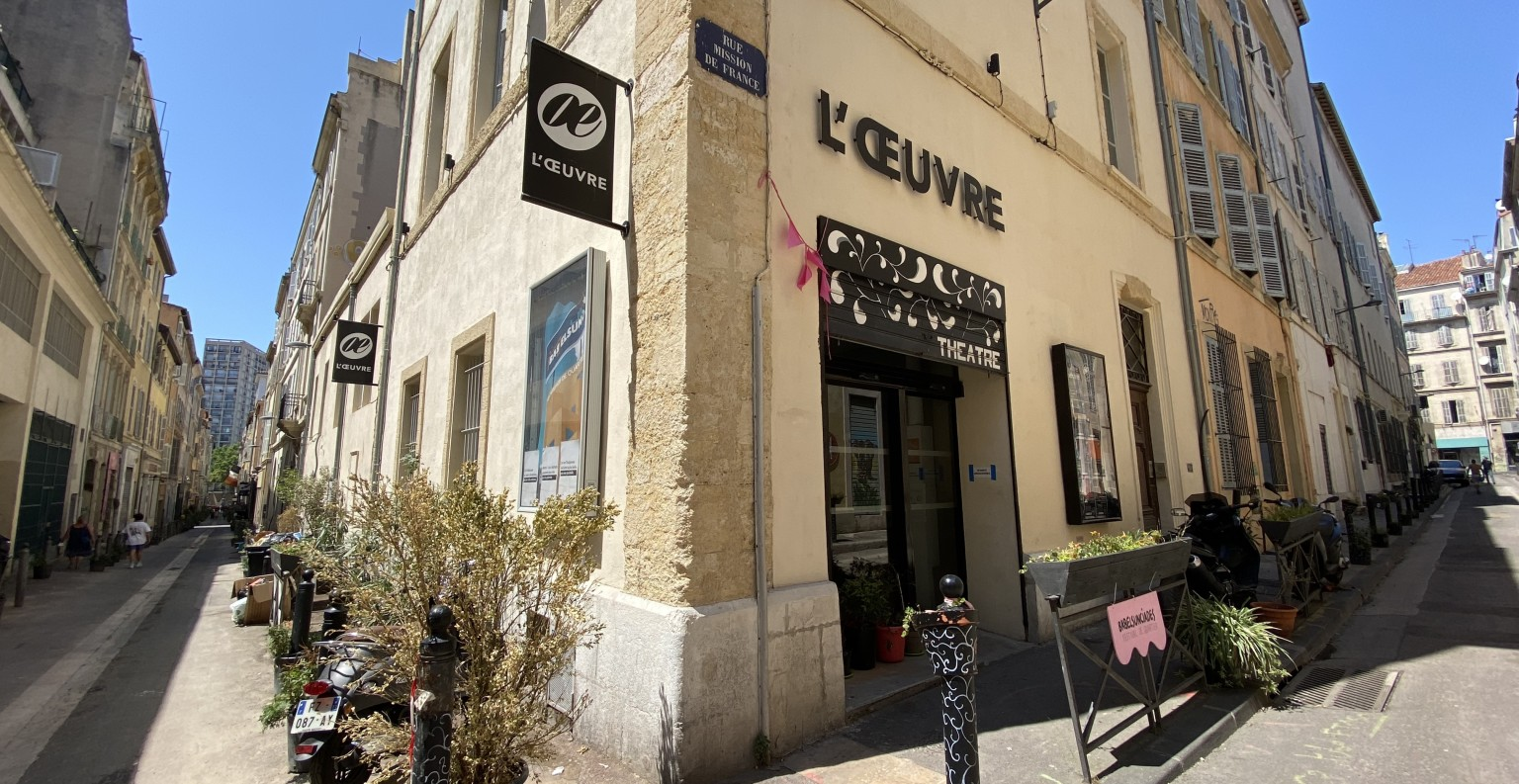 Le théâtre de l'Œuvre a été remis en conformité entre 2012 et 2016. © théâtre de l'Œuvre