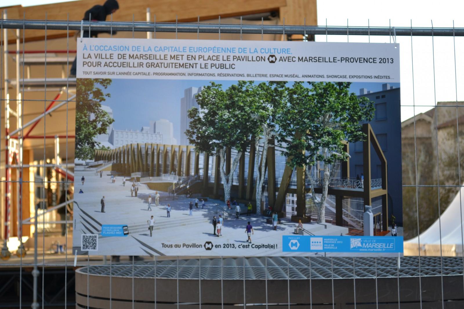 La future place Bargemon. Le 11 décembre 2012. ©MD