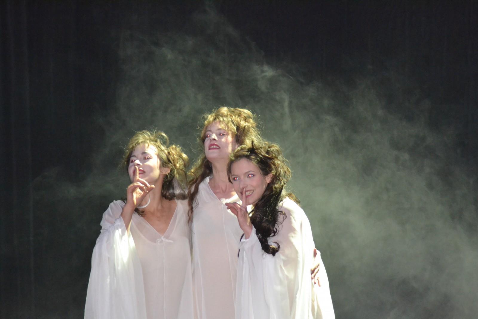 Les sorcières ont un rôle central dans la pièce. ©MD